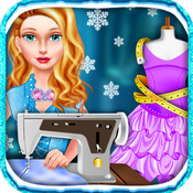 Ice Princess Fashion Costume Design Boutique - Outfit Maker For Frozen Queen