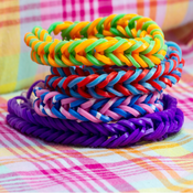 How to Make Rainbow Loom - Learn Rainbow Loom Instructions For Every Pattern the rainbow trail