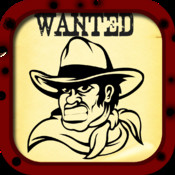 Wanted Poster Pro Photo Booth - A Reward For The Most Wanted Outlaws smashy wanted