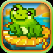A Hoppy Froggy World FREE- Rolling Log Frog Launcher Jump FREE