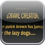 Crawl Creator: Star Words Message Creator