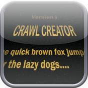 Crawl Creator: Star Words Message Creator