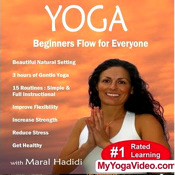 Yoga : Beginners Flow for Everyone-VideoApp by Maral Hadidi everyone