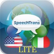 SpeechTrans Lite Italian English Translator wit...
