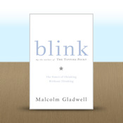 Blink: The Power of Thinking Without Thinking by Malcolm Gladwell thinking cap