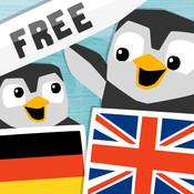 LinguPingu FREE - English German / Deutsch Englisch - children learn languages