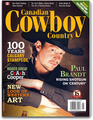 Canadian Cowboy Country Magazine country magazine
