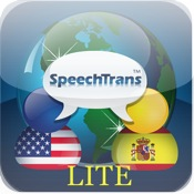 SpeechTrans Lite Spanish English Translator Powered by Nuance