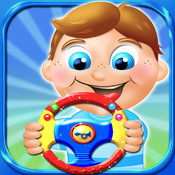 Kids steering wheels - interactive virtual toy HD