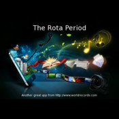 A Free Periodic Table for Chemistry: The Rota Period