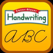 Zaner-Bloser Handwriting—Cursive cursive handwriting