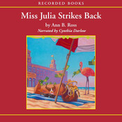 Miss Julia Strikes Back (Audiobook) julia child bio