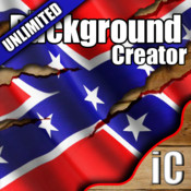 iCreate – Southern Pride! UNLIMITED Backgrounds-Shelves-Frames