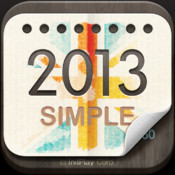 2013 UK Calendar : Simple 3d max2008 calendar