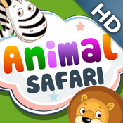 ABC Baby Safari - 3 in 1 Game for Preschool Kids - Learn Names and Sounds of Wild Animals