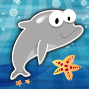 Sea Numbers - Kids learn by tracing numbers