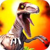 3D Dino Raptor Race For Cool Kids PRO - Carnivores Hunter Dinosaur Game