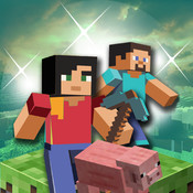 Minecraft - Pocket Edition 3D with Minecraft Skin Exporter (PC Edition) - Multiplayer for Minecraft PE minecraft pocket edition