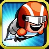 A Space Flappy Steel Man : Real Rocket Tap Version - Free Version version