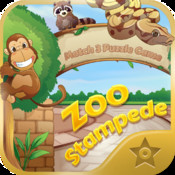 Zoo Stampede - Match 3 Puzzle Game