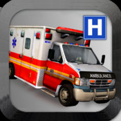 Ambulance Parking - Emergency Hospital Driving Free