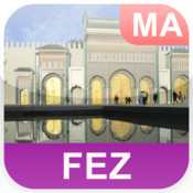 Fez, Morocco Offline Map - PLACE STARS