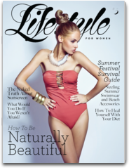 Lifestyle For Women Magazine: Women`s Magazine on Fashion, Beauty, Soul & Mind, Travel, Career, Health & Fitness For iPad & iPhone