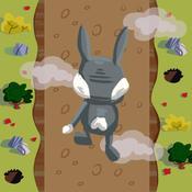 Rabbit Hole Dash - Kids Cartoon Runner Game