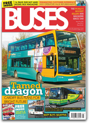Buses Magazine -  The World`s biggest selling bus and coach monthly magazine.