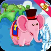 Elephant and Food:memory training for kids & family game