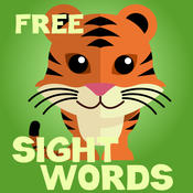 Kindergarten Sight Words Free : High Frequency Words to Increase English Reading Fluency free words