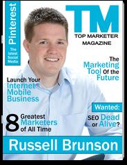 Top Marketer Magazine-The Premier Internet Marketing Magazine for Entrepreneurs magazine