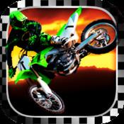 Awesome Moto cross Stunt Biker