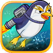Penguin Jetpack: Endless Flappy Bounce In The Blue Bay Gravity Game smashy speed