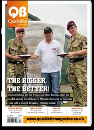QuickBite Magazine 'the uk's largest food-to-go magazine'