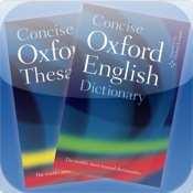 Concise Oxford English Dictionary and Thesaurus the 99