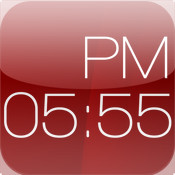 Red Clock HD (Alarm & Weather)