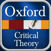Critical Theory - Oxford Dictionary