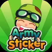 Army Sticker facebook sticker translator