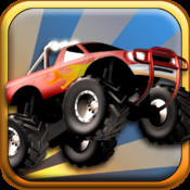 Monster Truck Run - Legends Edition - Offroad Jumping Over Smashed Town Car Wrecks in Sahara Desert Streets