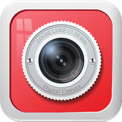 Selfie cam with outo self timer camera - Automatic shutter release plus camera zoom control