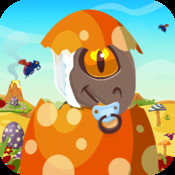 Baby Dino Egg Hunt : Dinosaur Run and Jump Game