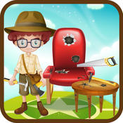 Kids Furniture Repair Shop – Fix the house furniture in this carpenter game for little kids horizon furniture