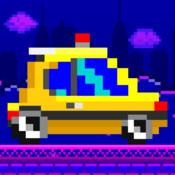 Little Cars - Free 8-bit Pixel Retro Car Racing Games