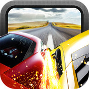 Red Speed Racer - Most Wanted Road Car Chase racer racing wanted