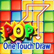 Pop One Touch--Free Addictive One touch Drawing Puzzle Game touch