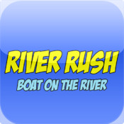 River Rush - Boat On The River