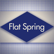 Flat Spring Design Simulator: Mechanical Engineering Design Assistant by Ray Tools design
