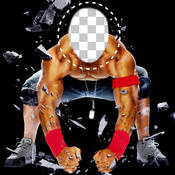 Wrestler Face Touch Lite - Face Change Tool For Your Pictures