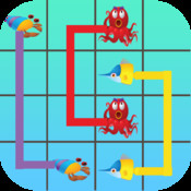 Sea Flow - Puzzle game to connect Deep Sea Fishes